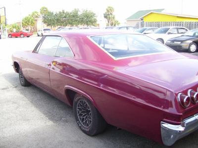 My 65 Impala SS 283 ci